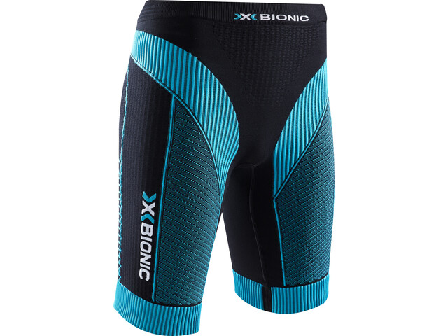 X-Bionic Effektor Power Running Pants Short Dame black/turquoise